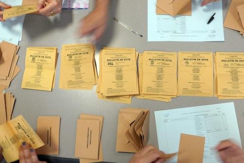 Élections carte - 1er tour - SNJ en tête