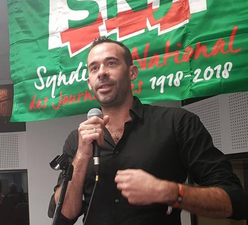 Emmanuel POUPARD, Premier secrétaire général du SNJ